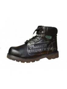 """Ботинки""""HUMMER"""" кожаные с металл. подноском утепленные"""