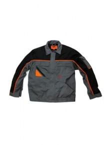 Куртка рабочая PROFESSIONAL серого/черного цвета.