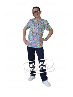 Блуза 331 смайлы