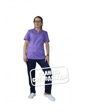 Блуза 331 фиолет
