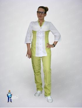 Костюм медицинский 254 (куртка+брюки)