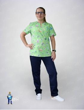 Блуза 331 стрекозы