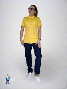 Блуза 334 желтая