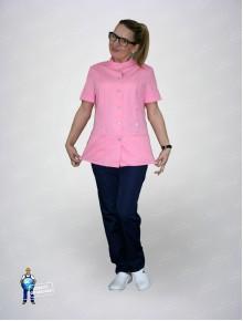 Блуза 334 розовая