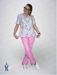Блуза 331/1  хелло китти
