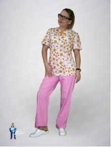 Блуза 331/1 коты в пачках
