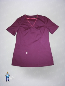 Блуза 328/1 айман фиолет