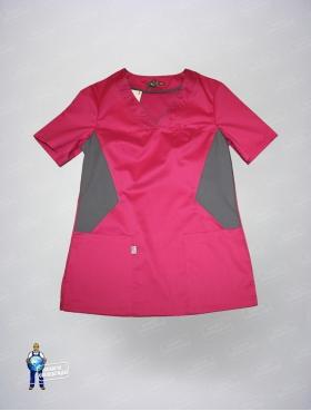 Блуза 328/1 айман роз +сер