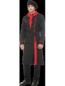 Костюм Шеф-повар черный+красный